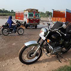 Inde, sur la route