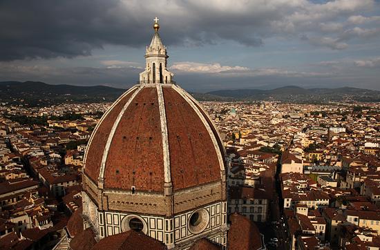 Une étape sur la route d'Ancone, Florence, la cathédrale Santa Maria del Fiore (Il Duomo), Italie 2011.