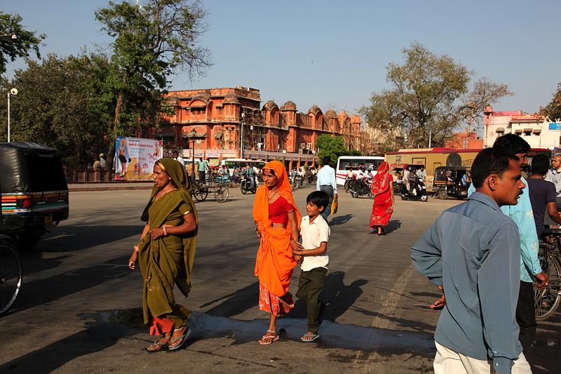 Scène de rue à Jaipur - Inde 2012