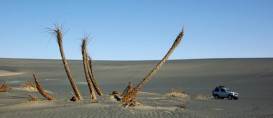 Volcan Waw An Namous - Désert de Libye, 2008