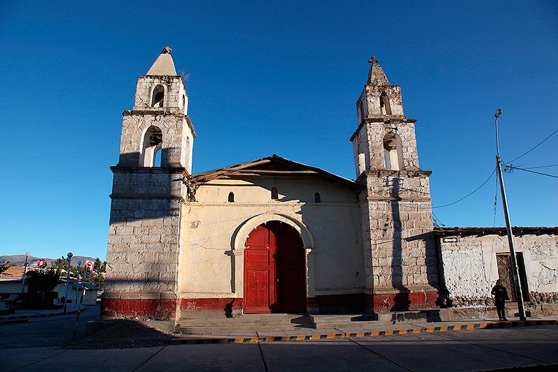 Une église à Puquio, Pérou - 2014