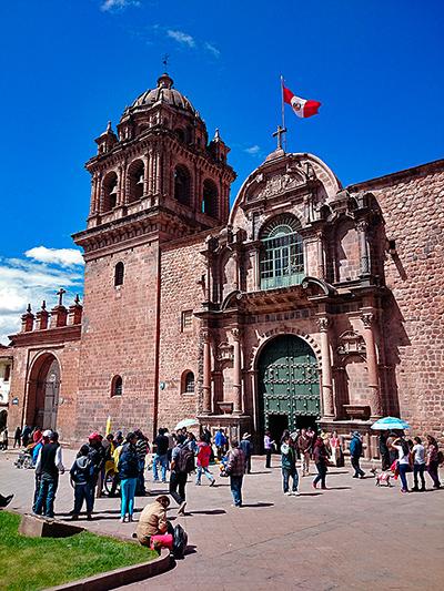 Iglesia de la Merced, Cuzco, Pérou - 2014