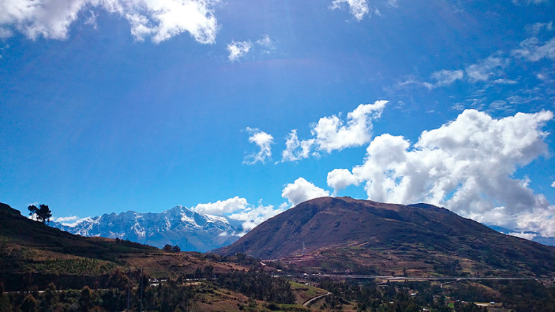 Paysages entre Abancay et Cuzco, Pérou - 2014