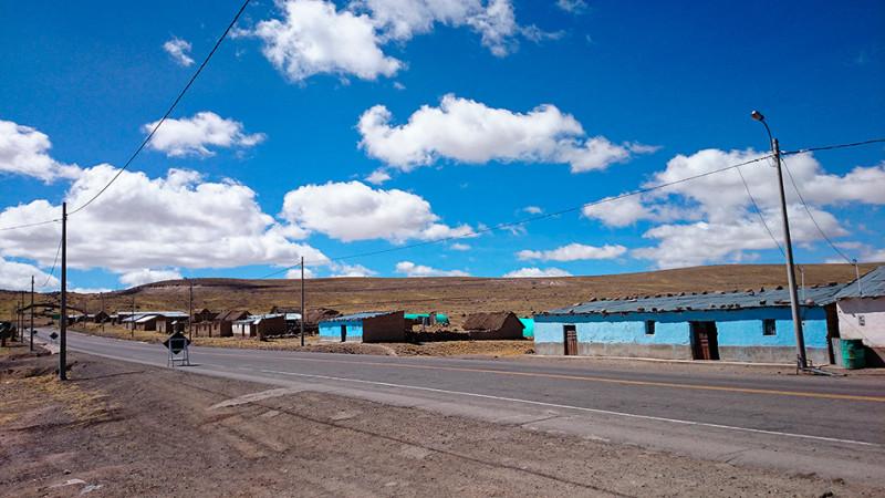 Le village de Negromayo sur l'altiplano, Pérou - 2014