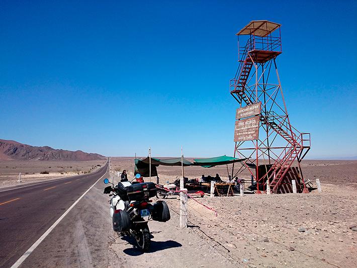Le mirador, lignes de Nazca, Pérou - 2014
