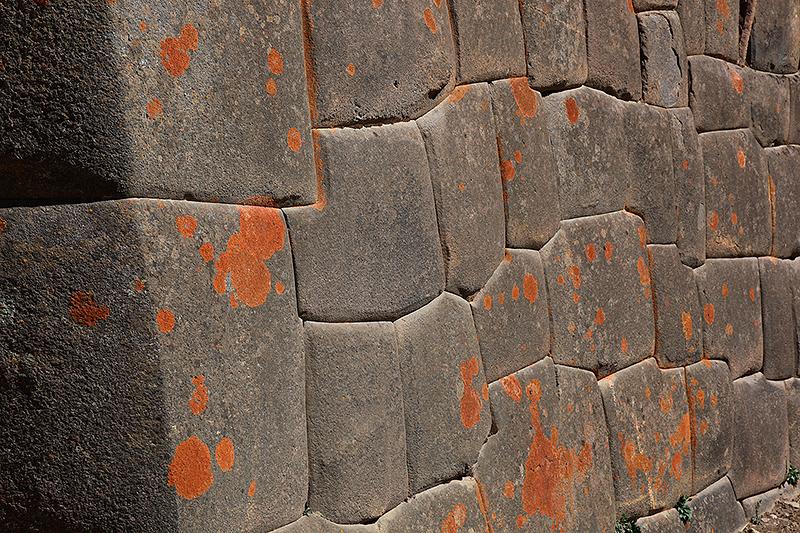 Mur Inca à Ollantaytambo, Pérou - 2014