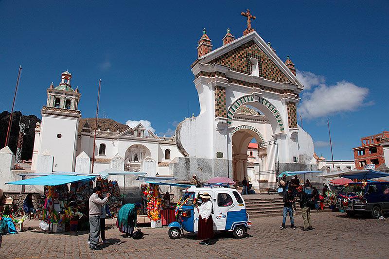 La cathédrale Mauresque de Copacabana, Bolivie - 2014