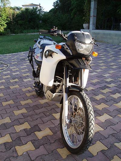 Moto démontée avant la mise en caisse