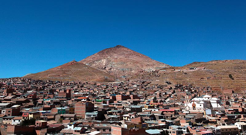 Potosi, le Cerro Rico, Bolivie - 2014