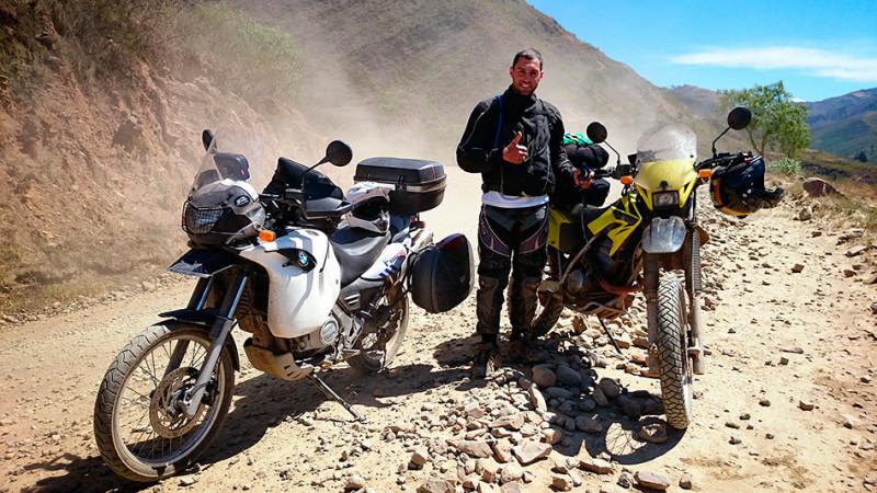 Rencontre sur la piste, Bolivie - 2014