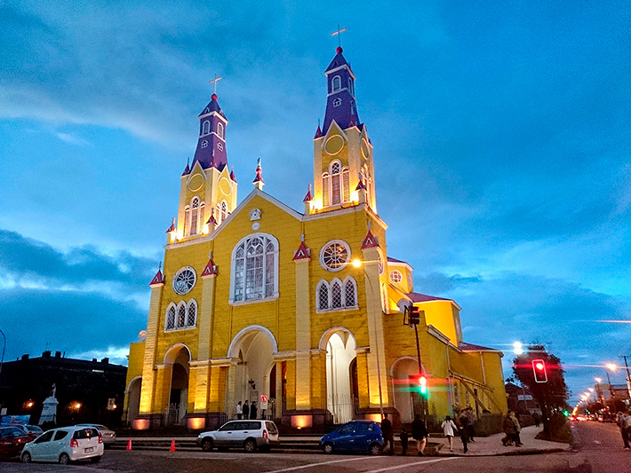Iglesia San francisco de Castro, île de Chiloé, Chili - 2014
