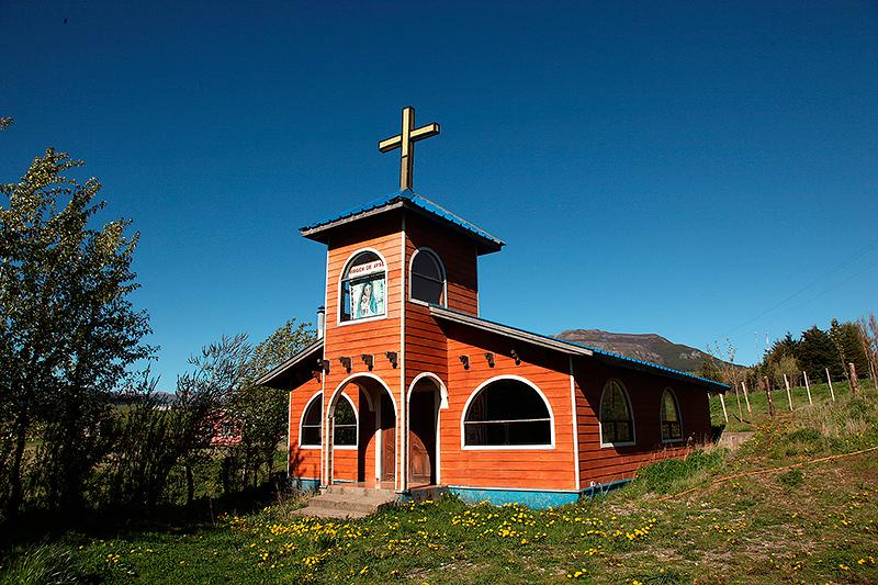 Sanctuaire à la Vierge de Aysen, Carretera Austral, Chili - 2014