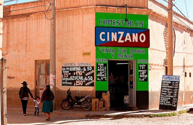 Boutique d'alimentation, Humahuaca, Argentine - 2014