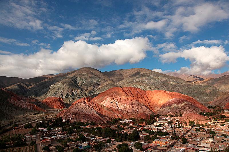 El cierro de los siete colores, Purmamarca, Argentine - 2014