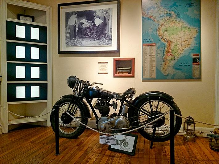 Norton 500 de 1936, musée Ernesto Che Guevara, Alta Gracia, Argentine - 2014