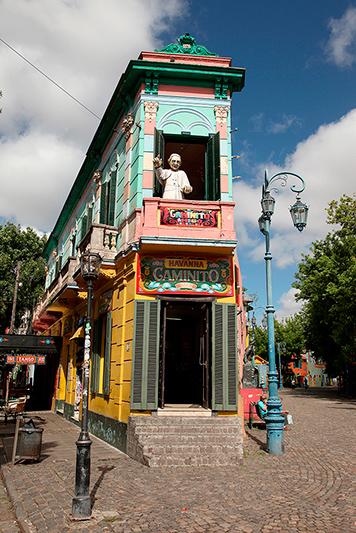 Quartier de la Boca, Buenos Aires, Argentine - 2014