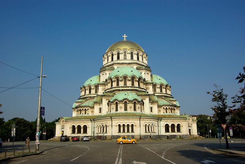 Bulgarie - Sofia, la cathédrale Alexandre Nevski - 2009