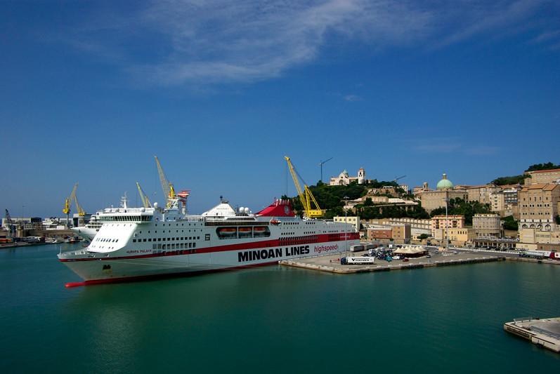 Ancone, vue du port, Italie - 2009