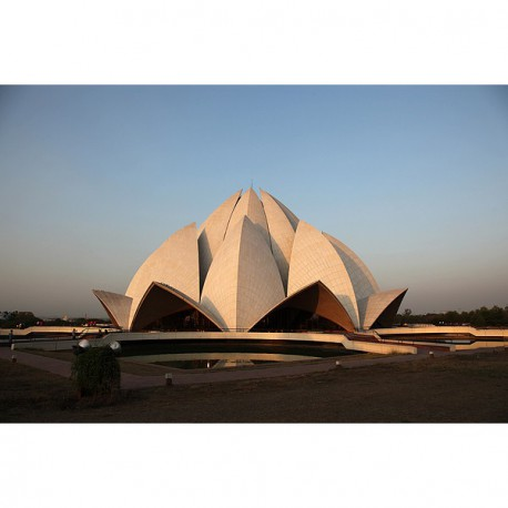 Le temple du Lotus (Bahá'í House of Worship) – Delhi, Inde 2012