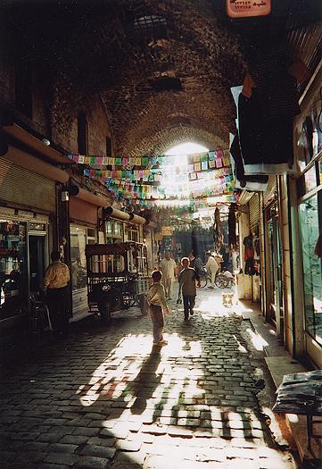 Alep, les ruelles du Soukh