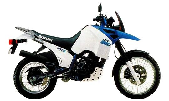 Suzuki 750 DR modèle 88