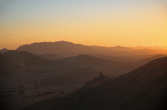 Syrie - Palmyre, la vallée des tombeaux