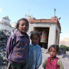 Portraits d'enfants, village de Miru, Manali - Leh highway, Ladakh, Inde, 2010