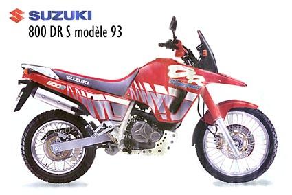 Suzuki 800 DR