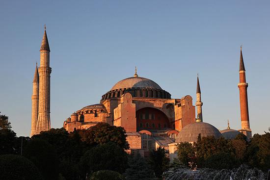 Ayasofia, Istanbul, Turquie 2011.