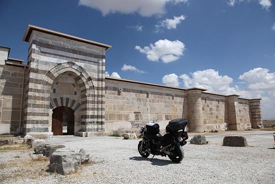 Caravansérail de Zazadin (Zazadin hani), environs de Konya, Turquie 2011.