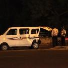 La photo que l'on souhaite ne jamais faire : notre taxi accidenté - Delhi, Inde 2012