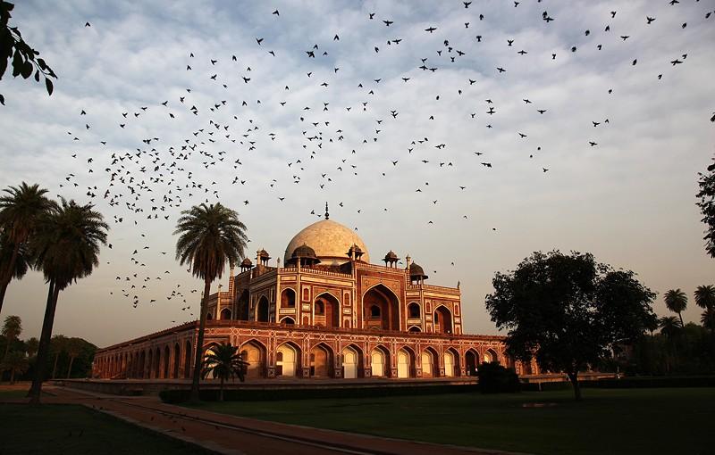 Le tombeau d'Humâyûn - Delhi, Inde 2012