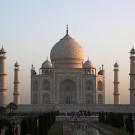 Le Taj Mahal, vu depuis l'entrée principale - Agra, Inde 2012