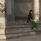 Le Taj Mahal, portrait - Agra, Inde 2012