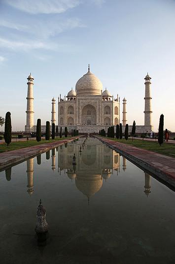 Majestueux Taj Mahal - Agra, Inde 2012