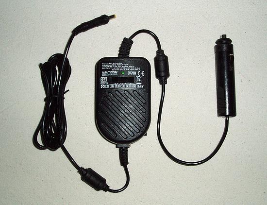 Alimentation PC portable sur prise allume-cigare