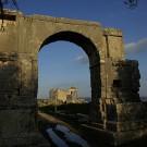 L'arc de Sévère Alexandre, site antique de Dougga - Tunisie 2009