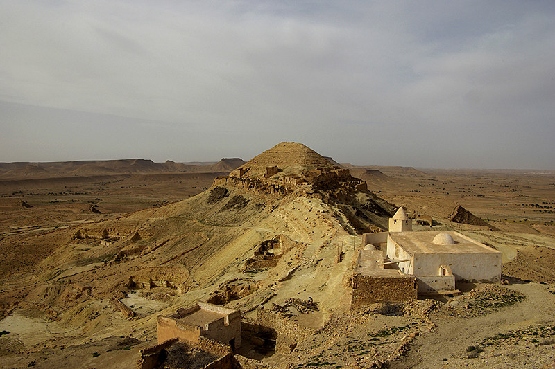 Le ksar abandonné de Guermessa - Tunisie 2009