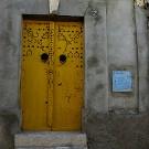 Une porte traditionnelle dans la vieille ville, El Kef - Tunisie 2009