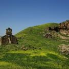Eglise en ruine, carrières de Chemtou - Tunisie 2009
