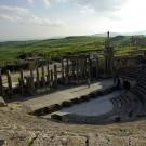 Le thêatre de Dougga - Tunisie 2009