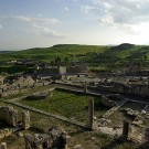 Les thermes liciniens, site antique de Dougga - Tunisie 2009