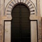 Porte traditionnelle dans la Medina de Tunis - Tunisie 2012