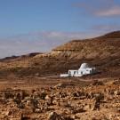Cimetière et marabout, ancien village de Douiret - Tunisie 2012