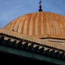 La zaouïa de Sidi Abdelkader, détail de la coupole, Kairouan - Tunisie 2012