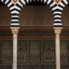 Cour intérieure du mausolée Sidi Abid el Ghariani, Kairouan - Tunisie 2012