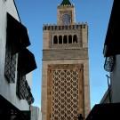 Le minaret de la mosquée Zitouna, Tunis - Tunisie 2012