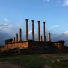 Les vestiges du capitole, site de Thuburbo Majus – Tunisie 2012