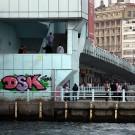 Le pont de Galata et ses promeneurs, Istanbul - Turquie 2013