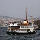 Le ferry ISTANBUL-9 dans la Corne d'Or, Istanbul - Turquie 2013
